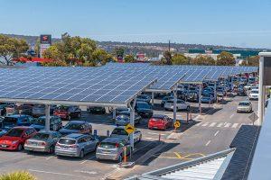 Shopping Centre Solar Car Park