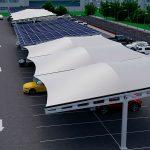 PVS-Hybrid Profile solar car park
