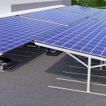 Economy Profile Solar Panels Car Park