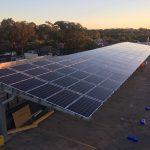 Leichhardt Solar Car Park Shade Structure