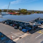 Castle Plaza Solar Car Park Shade Structures