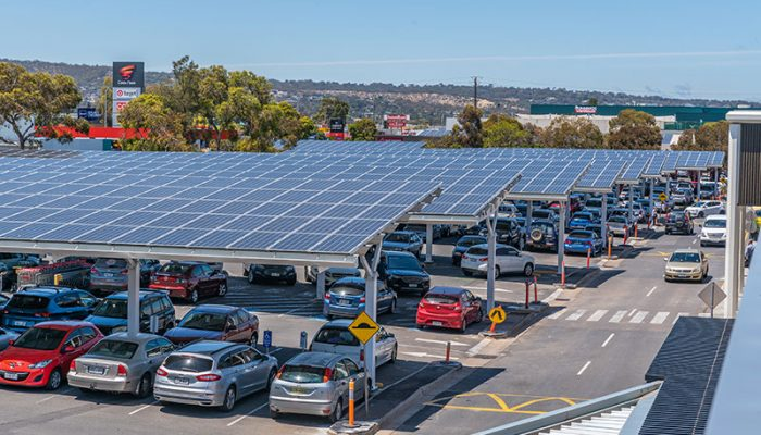 Shopping Centre Solar Car Park