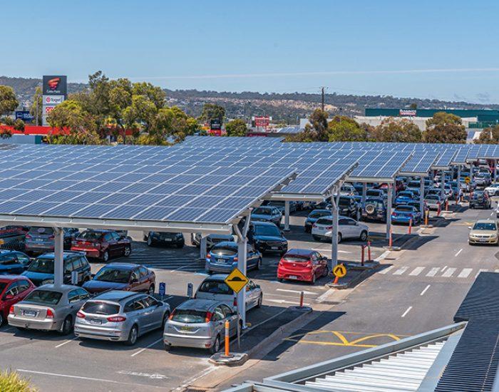 Castle Plaza Solar Car Park