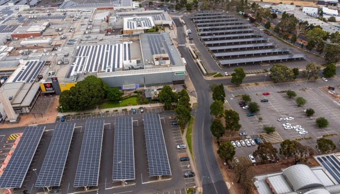 Elizabeth Solar Car Park Shade Structures