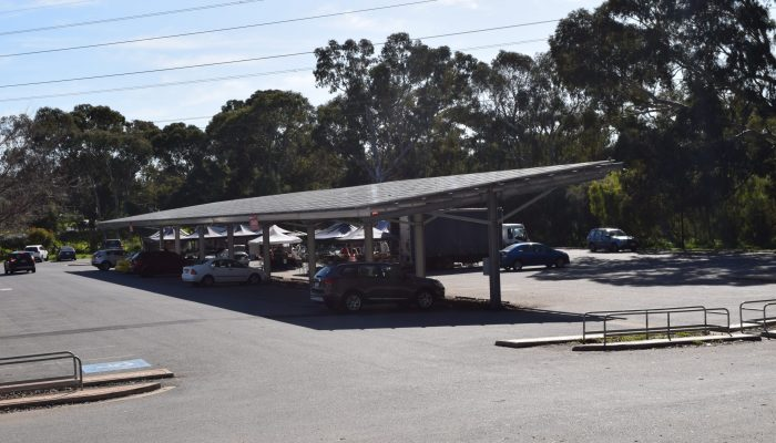Old Spot Solar Car Park Shade