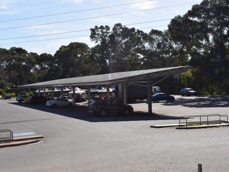 Old Spot Solar Car Park Shade